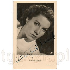 Poważna, dystyngowana, elegancka aktorka niemiecka Adelheid Seeck