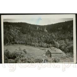 Riesengebirge - stara pocztówka Rochlitz