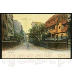 Breslau na zabytkowej kartce pocztowej