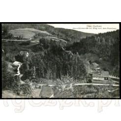 Krajobraz Gór Stołowych z widokiem na drogę stu zakrętów