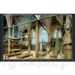panorama na bogate wnętrze giełdy- niegdyś Dwór Artusa