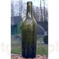 Butla zielona z pieczęcią