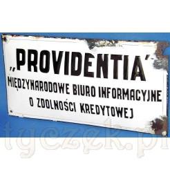 antyk szyld Providentia -sprzedany
