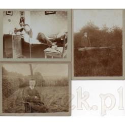 Życie codzienne młodego arystokraty uwiecznione na pamiątkowych fotografiach
