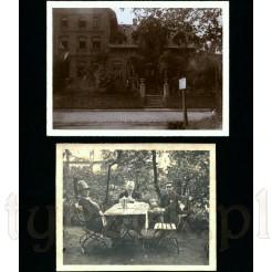 Fotografie pochodzące z 1927 roku komplet dwóch zdjęć