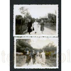 Zestaw dwóch pamiątkowych fotografii wykonanych w 1933 roku