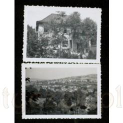 Komplet dwóch czarno białych pochodzących z 1937 roku