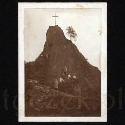 Pomnik przyrody w formie bazaltowej skały w kształcie stożka z 1926 roku
