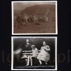 Ciężka praca na wsi oraz rodzinny odpoczynek na pamiątkowych fotografiach
