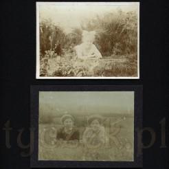 Letni czas, chwila odprężenia uwieczniona na dwóch fotografiach