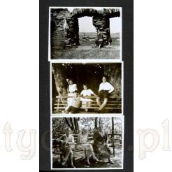 Trzy fotografie w bardzo dobrym stanie pochodzące z 1931 roku