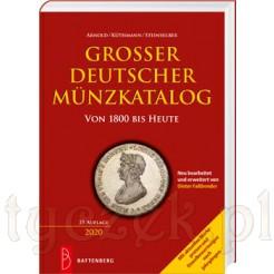 AKS Grossser Deutscher Munzkatalog wydanie na rok 2020