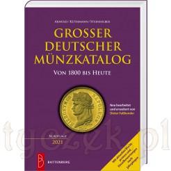 Katalog niemieckich monet z cenami. Obejmuje monety od 1800 roku do dziś