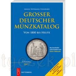 Niemieckie Monety od 1800 ujęte są w tym katalogu wraz z wyceną