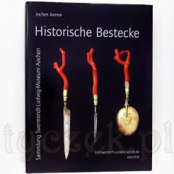 """album """"Historische Bestecke"""" sztućce zabytkowe"""