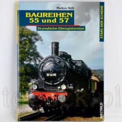 Kolekcjonerski album o lokomotywach serii 55 i 57