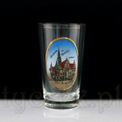 Gustowny antyk z Wrocławia - Pamiątkowa szklanica