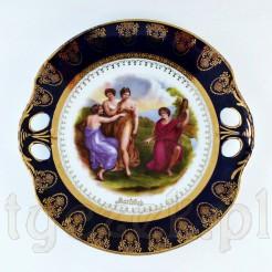 Porcelanowa patera ze scenką mitologiczną