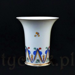 Ręcznie malowany wazon z Tułowic