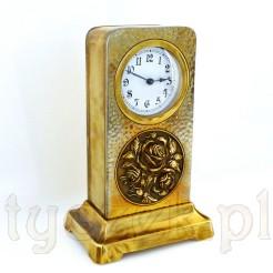 Duży i elegancki zegar z początku XX wieku