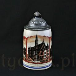 Kolekcjonerski kufel antyk z Breslau