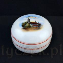 Puzdro Gliwice - przedwojenna porcelana