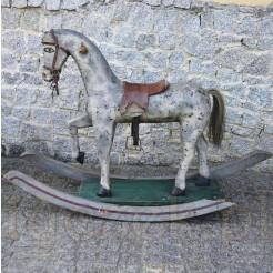 Kolekcjonerska zabawka - koń na biegunach