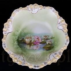 Secesyjna porcelanowa misa z Tułowic