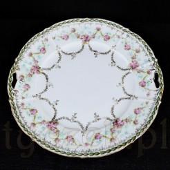 Oryginalny, kolekcjonerski talerz zabytkowy marki RS Prussia