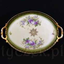 Przepiękna porcelanowa taca
