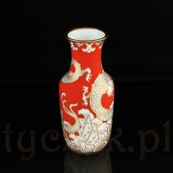 Piękny wazon z białej porcelany marki Rosenthal.