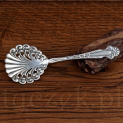 Łyżkę wykonano z wysokiej jakości srebra próby 925.