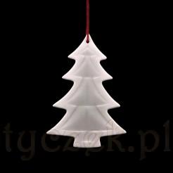 Ozdoba świąteczna wykonana z porcelany