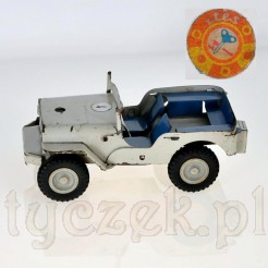 Stara zabawka - blaszany samochód