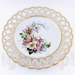 Wyjątkowa porcelanowa patera