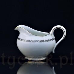 Subtelny porcelanowy mlecznik model Balmoral