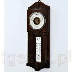 Sprawna stacja pogody: barometr i termometr