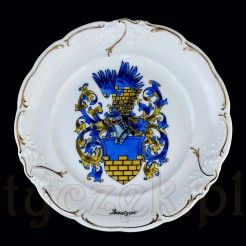 Bautzen - herbowy souvenir z porcelany KPM
