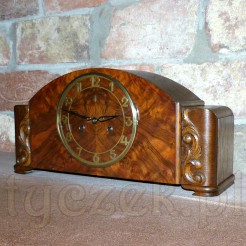 Original Gustav Becker- kominkowy zegar kwadransowy