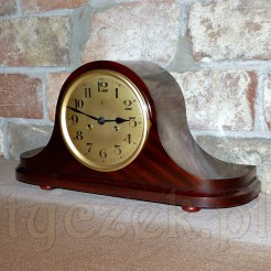 Piękny i okazały zegar zabytkowy BECKER w mahoniu