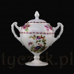 Rzadki okaz - porcelanowa cukiernica z Turyngii.