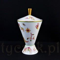 Ekskluzywny obiekt z markowej porcelany Rosenthal epoki ART DECO