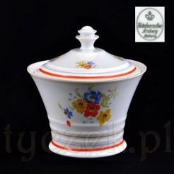 Dekroacyjna bombonierka na ciastka z markowej porcelany Bavaria