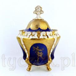 Okazała i bardzo duża bomboniera KOENIGSZELT w złocie