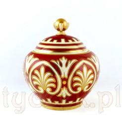 Pokaźna bomboniera porcelanowa - egzemplarz autorski