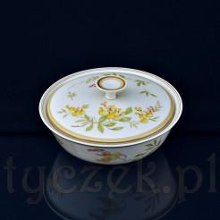 Okazała bombonierka ze śląskiej porcelany marki Carstens Porzellan