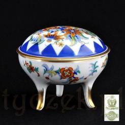 Wyjątkowe puzdro Art Deco porcelany Tułowickiej RS