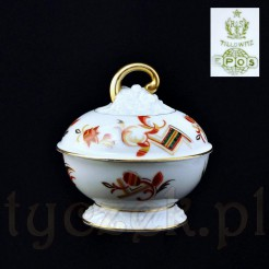 Porcelanowa bombonierka na słodycze
