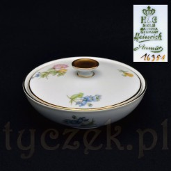 Markowe puzderko z porcelany H&CO Heinrich Selb bavaria