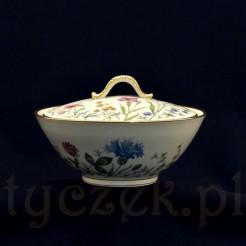 Wiekowa porcelanowa bombonierka z Bavarii